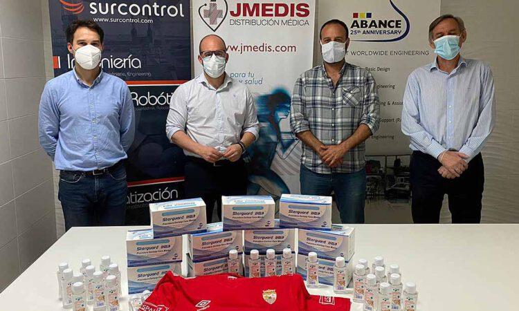 Compromiso social del Racing Club Portuense en la actual crisis sanitaria y social