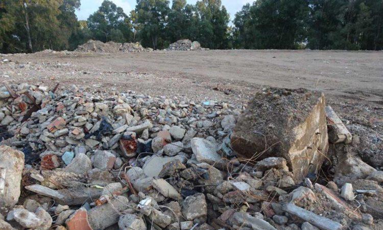 Sanción ejemplar por el vertido de escombros en Rancho Linares, 240.000 euros de multa