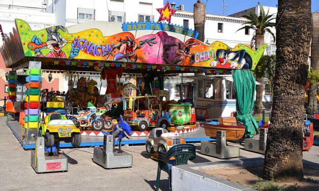Las atracciones infantiles vuelven al Parque Calderón