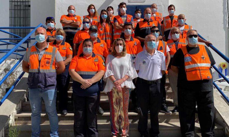 El supervisor de Protección Civil se hace cargo de la agrupación de voluntarios