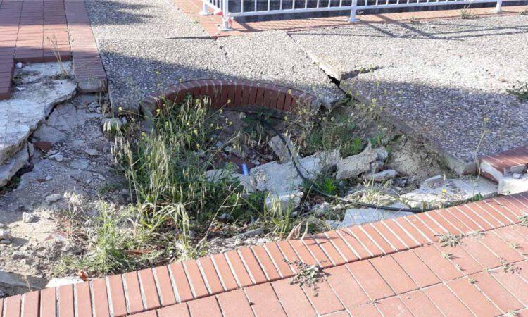 La Flave reclama soluciones a los desperfectos en la avenida de Valencia