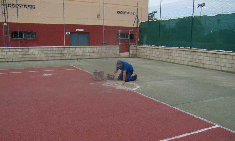 La Concejalía de Deportes realiza mejoras en las instalaciones de la Ciudad Deportiva