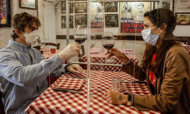 Mamparas en los restaurantes