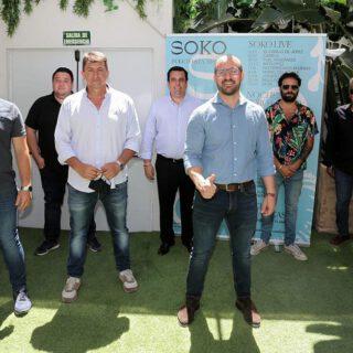 Henry Mendez, Juan Magán y El Canijo de Jerez se dan cita este verano en Soko Puerto
