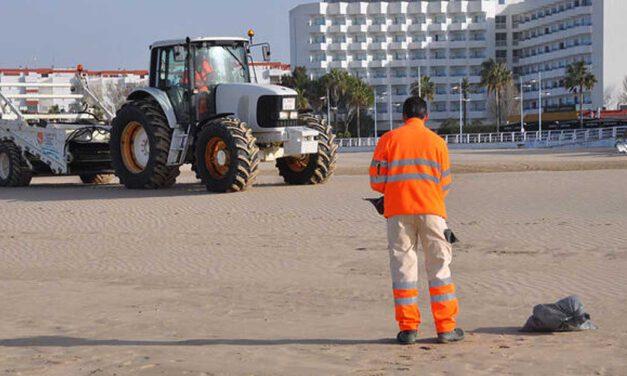 UGT se desmarca de la huelga del servicio de limpieza de playas