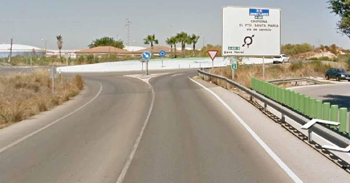Fallecida una mujer tras salirse de la vía su vehículo en El Puerto de Santa María