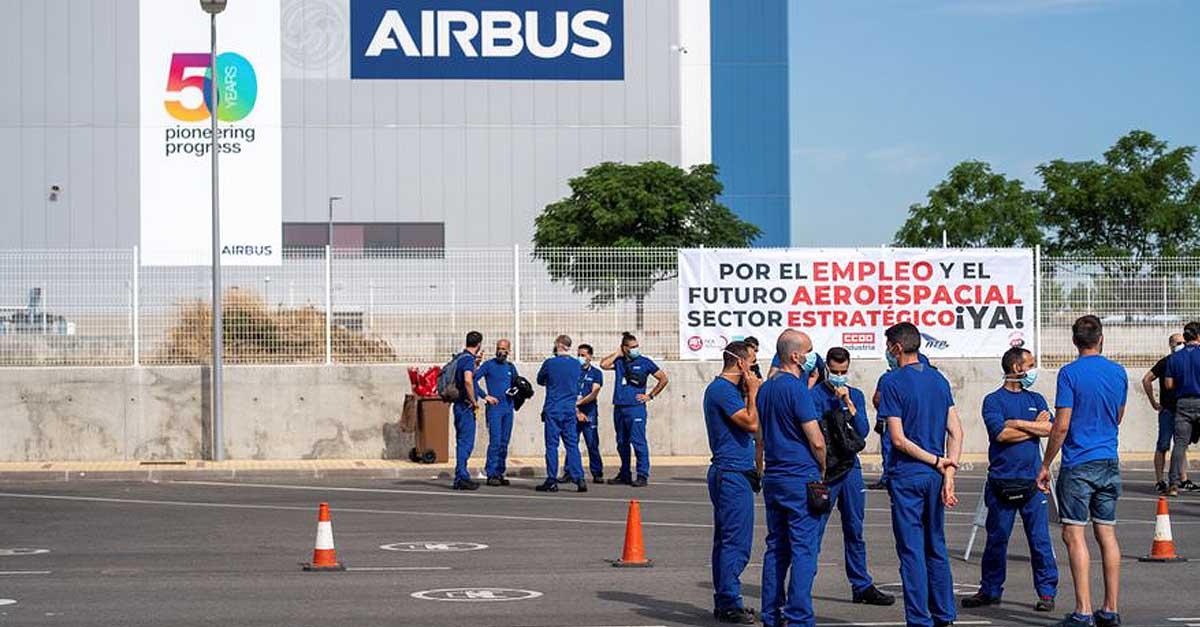 El PSOE portuense aplaude la ayuda del Estado al sector aeronáutico