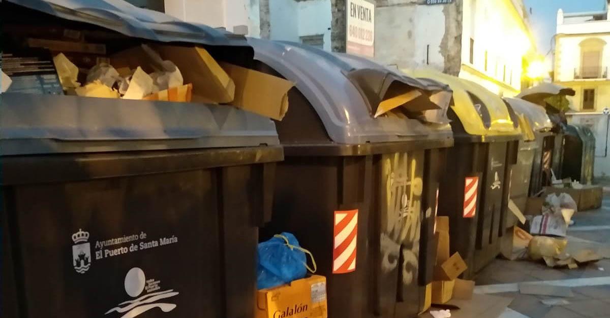 El PSOE denuncia la falta de limpieza en El Puerto