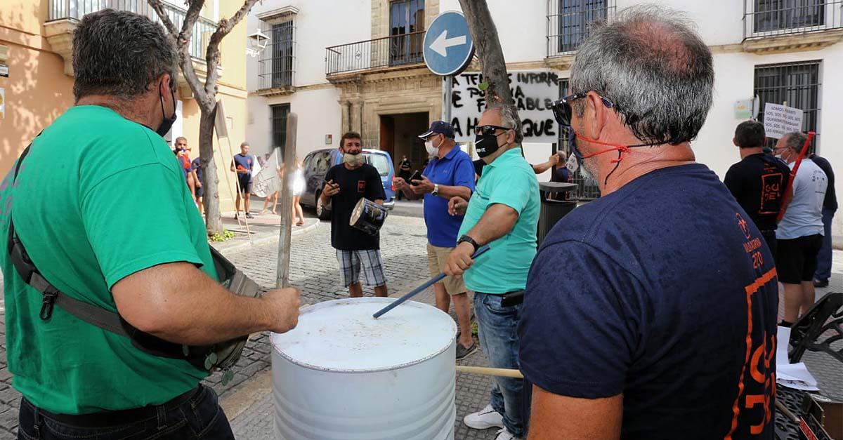 La Policía Local da el visto bueno a las atracciones de Valdelagrana