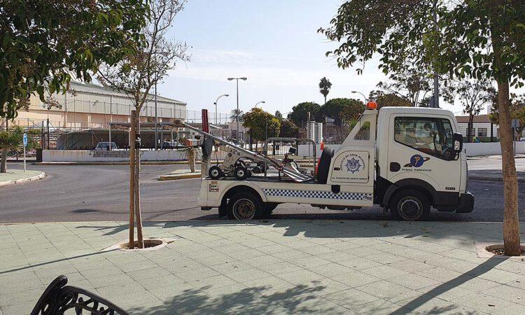 La U.P.L.B.A sale al paso de la precariedad en el servicio de grúa municipal
