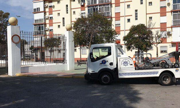 El PSOE denuncia que el servicio municipal de grúa se está prestando sin contrato