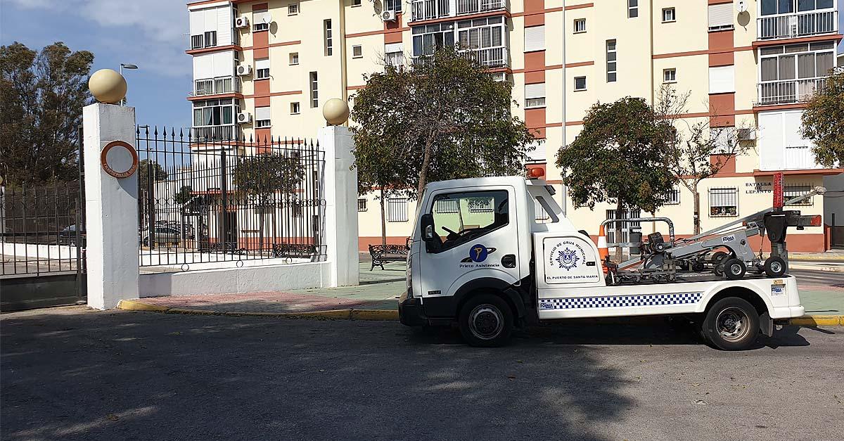 El PSOE reclama las actas de inspección de la grúa municipal