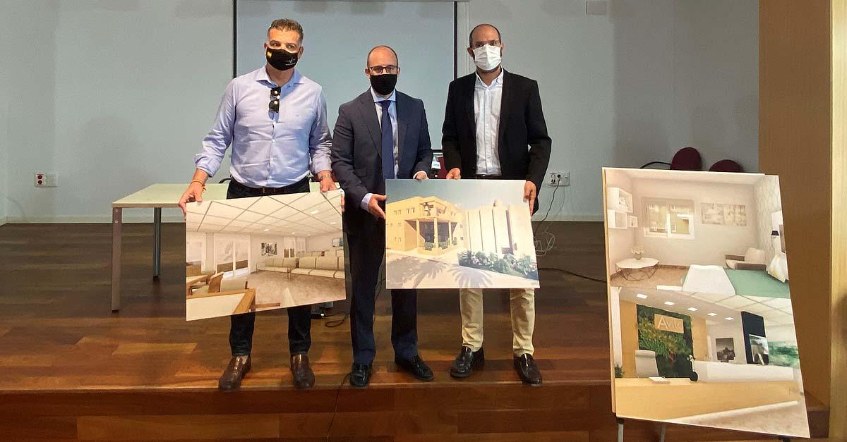 Presentado el proyecto de la nueva residencia de mayores en Las Banderas