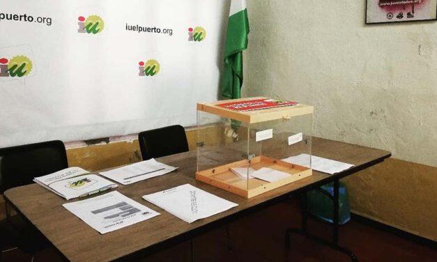 Izquierda Unida inicia el proceso para renovar la dirección local en El Puerto