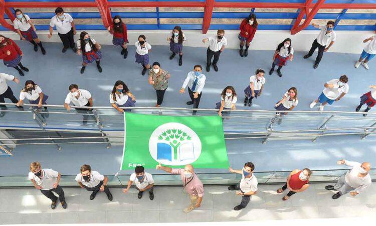 El Centro Inglés, galardonado con la prestigiosa Bandera Verde
