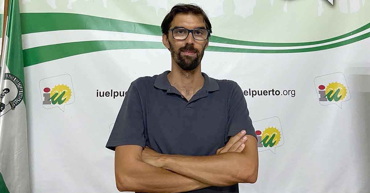 José Luis Bueno, elegido nuevo coordinador local de IU El Puerto