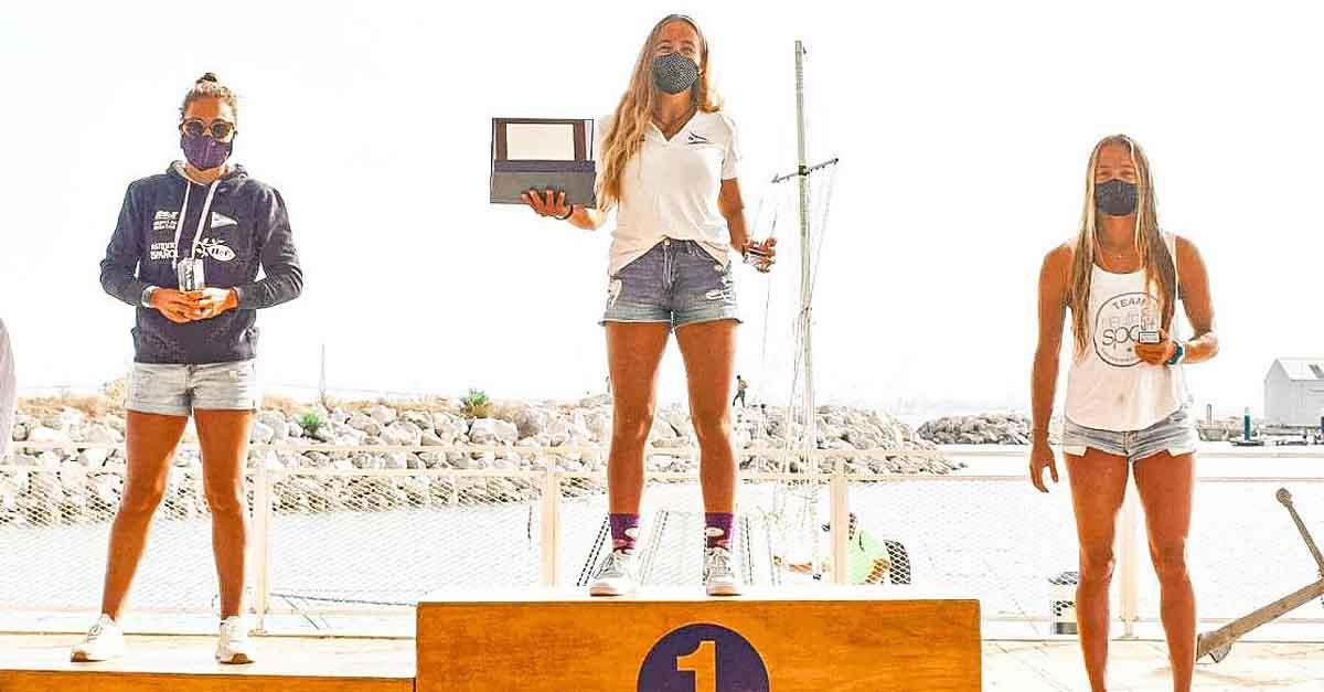 Pilar Lamadrid, campeona de España de IQFoil