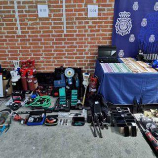 Desarticulada una banda de butroneros que había robado en El Puerto