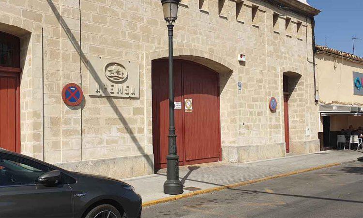 Apemsa restituirá el saneamiento y el abastecimiento en la calle de la Mora