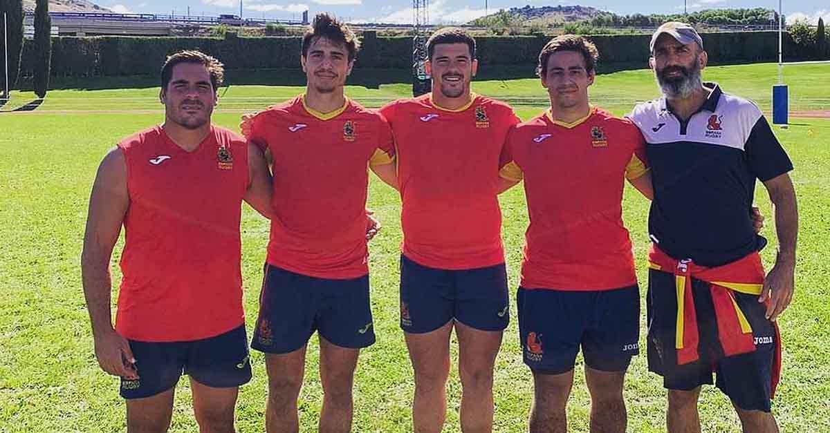 Gabriel Vélez es convocado por la selección española de rugby XV