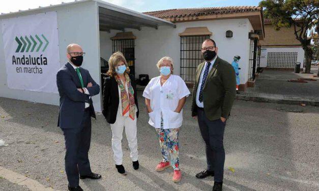 La Junta de Andalucía pone en marcha el punto Auto-Covid en El Puerto