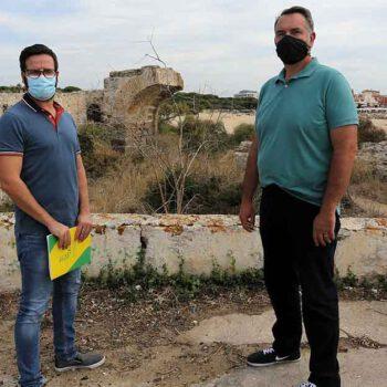 Unión Portuense apuesta por el valor patrimonial del Fuerte de Santa Catalina