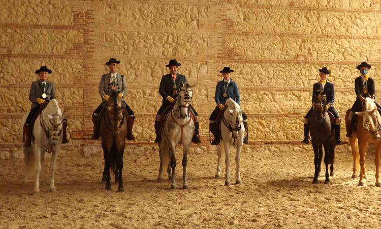Éxito de jinetes portuenses en el Campeonato de Andalucía de Alta Escuela Española