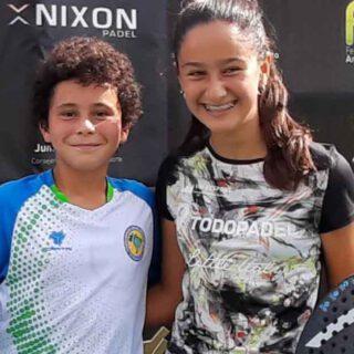 Julieta Alemán se proclama por tercera vez campeona de Andalucía de pádel