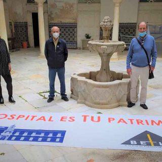 Betilo retira sus pancartas del Hospital de San Juan de Dios