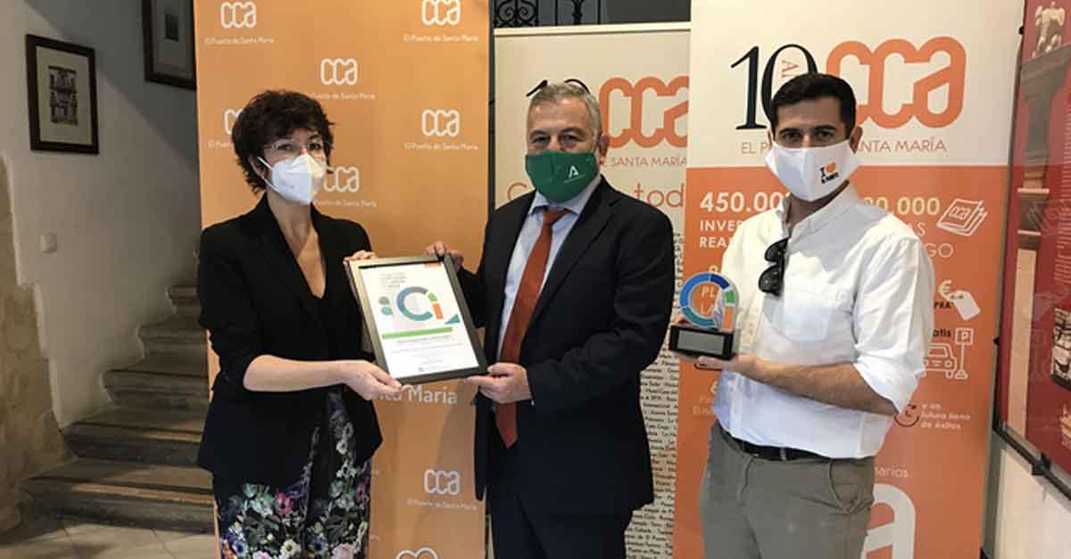 El CCA El Puerto recibe el Premio de Comercio de Andalucía