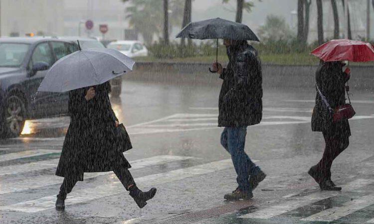 Alerta por lluvias intensas en Cádiz a partir del miércoles