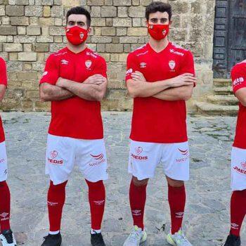 Presentada la nueva equipación del Racing Club Portuense