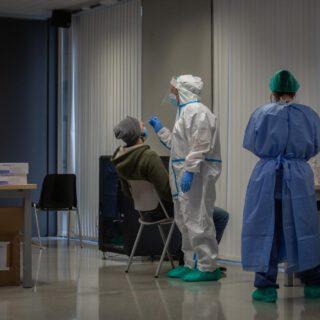 Andalucía registra la menor cifra de contagios desde el 14 de septiembre