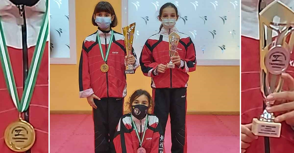 Gema Gálvez y Daniela Holgado, campeonas de Andalucía en Taekwondo
