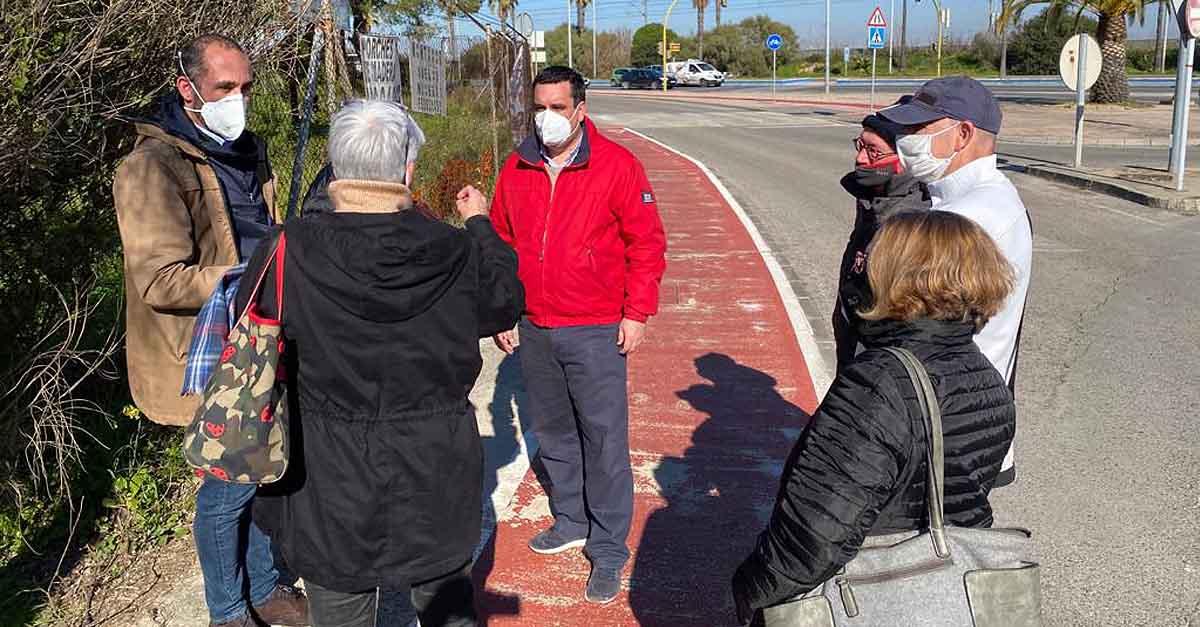 El Ayuntamiento de El Puerto solicitará a la DGT un radar fijo en la entrada a la ciudad por Valdelagrana