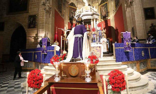 Celebrado el Vía Crucis del Consejo de Hermandades con el Señor de El Olivo como protagonista