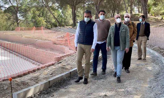 Avanzan a buen ritmo las obras de urbanización del complejo turístico del Cangrejo Rojo