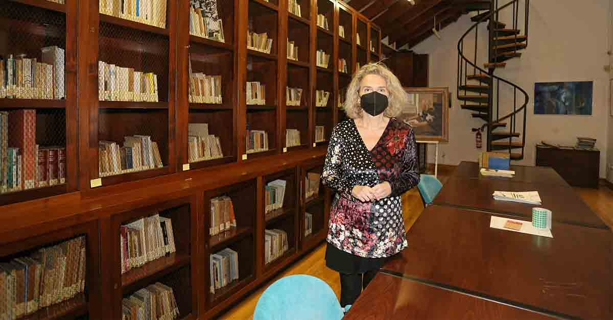 Cultura abre al público de la mano de un experto la biblioteca personal de Alberti con más de 6.000 libros