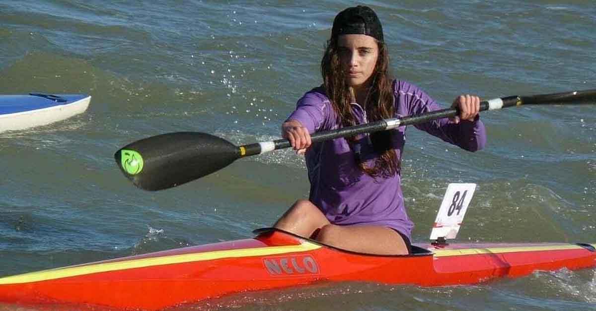 La portuense Teresa de la Peña entra en el equipo nacional de Piragüismo