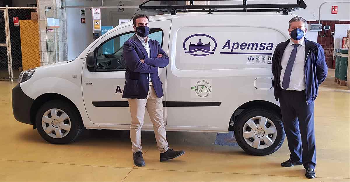 Apemsa incorpora su primer vehículo eléctrico apostando por el medio ambiente