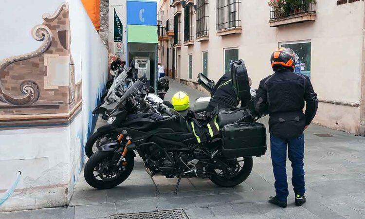Llegan las primeras motos a El Puerto en un fin de semana atípico de Motorada