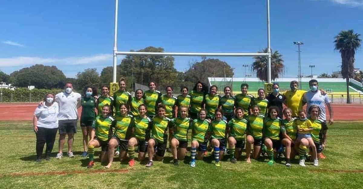 El CRAP femenino, subcampeón de la liga de Rugby XV