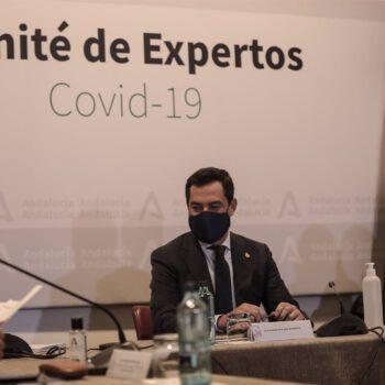 """Moreno: """"Si el Gobierno no toma ya una decisión sobre AstraZeneca, lo hará Andalucía"""""""