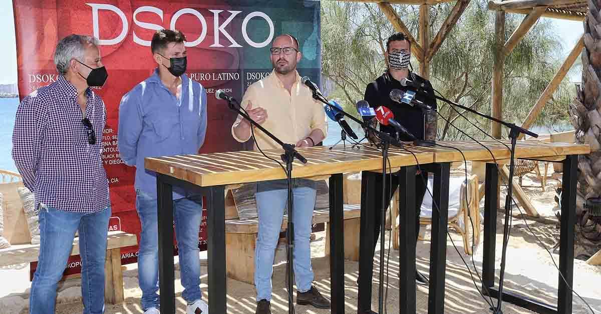 El verano portuense volverá a contar con la mejor música en directo con 'DSOKO Fest'