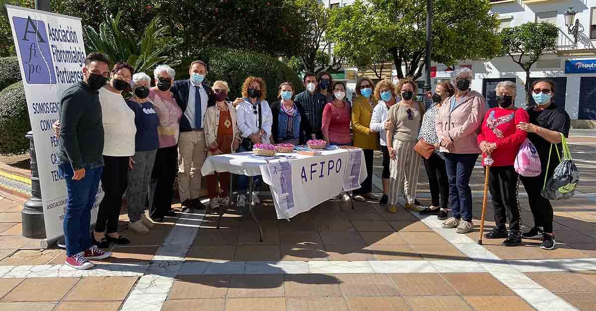 El PSOE, con AFIPO en Día de la Fibromialgia