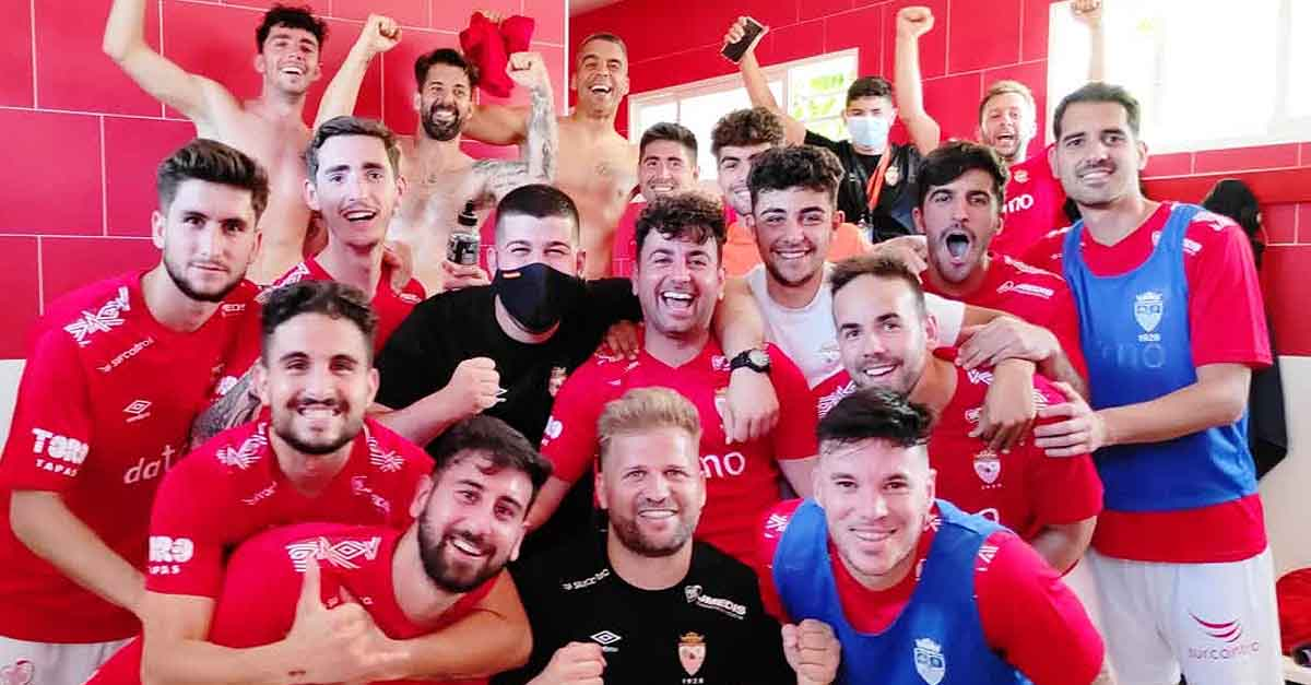 Gran victoria del Racing Club Portuense que acaricia ya el ascenso a la Primera Andaluza