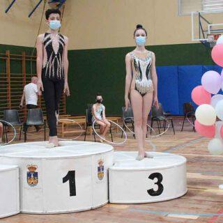 Celebrado el primer mini torneo de gimnasia rítmica del Club Rítmica Ciudad de El Puerto