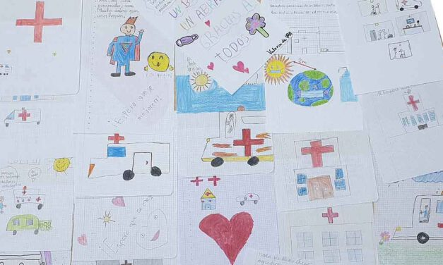 Alumnos de 4ª del CEIP Pinar Hondo envían cartas de ánimo a los profesionales del Hospital de El Puerto