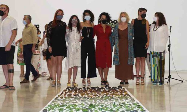 Ampliada una semana más la exposición 'De un lugar' que muestra la obra de cinco mujeres artistas