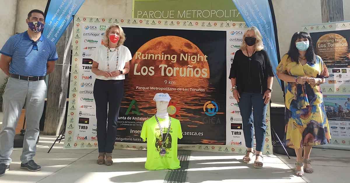 El Parque de Los Toruños acoge este sábado la VI edición de la Running Night (Luna Llena)